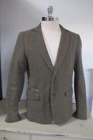 Designer Sports Jacket - DIESEL, Green, size L (50)