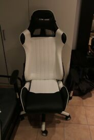 Gaming chair for sale!!! Brand new only one week of use!!!