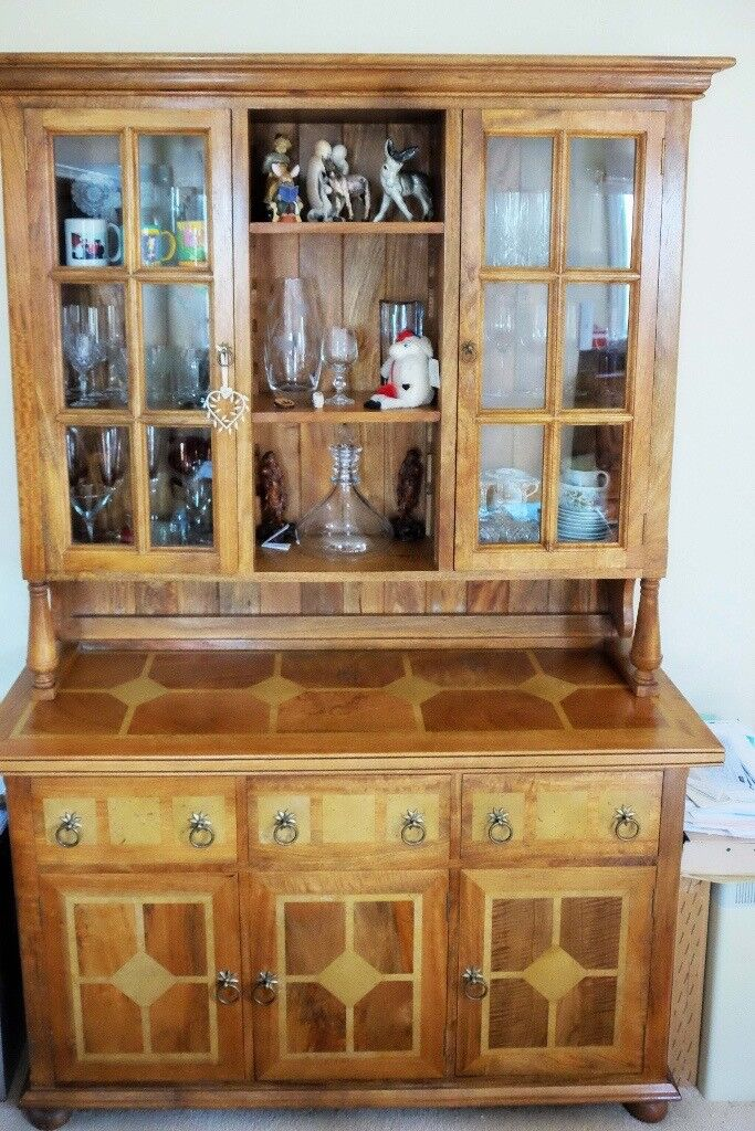 Barker Furniture Flagstone Range Dining Room Dresser Base And Top In Mango Wood