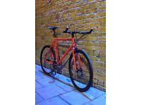 GOKU CYCLES Steel Frame Single speed road bike TRACK bike fixed gear fixie racing bike FT