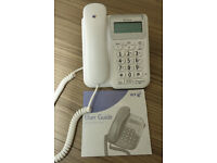 BT Decor 1300 White Telephone