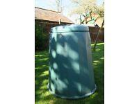 Garden compost Bin with lid