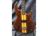 Aria Pro II SB-1000 Bass Guitar - Walnut Finish