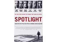 Freudian Clip The Film Club screens the movie 'SPOTLIGHT' wine&food&discussion at Waterstones TCR