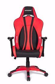 AK Racing Premium V2 Gaming Chair Red and Black
