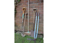 Garden Tools, used