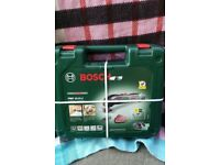 Unopen BOSCH 10.8V 194W CORDLESS MULTI TOOL Ideal sanding wood or scraping old paint, removing grout