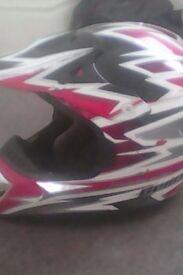demon motorbike helmet