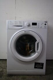 Hotpoint 8kg Washing Machine, Excellent Condition, 6mo Warranty, Delivery and Install Available