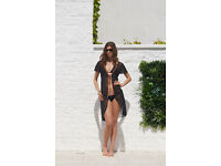 See through long cardigan dress (top quality UK brand-balearic beach) brand new beach wear