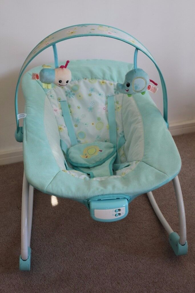 Newborn to Toddler Baby Rocker/Bouncer Unisex Adjustable, Easy To assemble, Great Condition