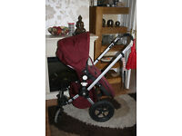 Bugaboo Frog pushchair with Foot Muff and Rain Cover