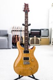 1990 Paul Reed Smith Custom 24 Brazilian with sweet switch in Vintage Yellow PRS C24