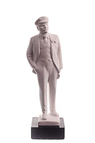 Soviet Russian USSR Leader Vladimir Lenin Marble Bust Statue Sculpture 6.7