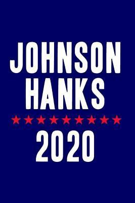 Johnson Hanks 2020 Campaign Mural inch Poster 36x54 - Johnson Mural
