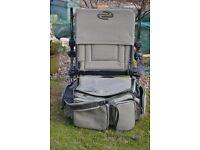 Korum Accessory chair and Ruckbag