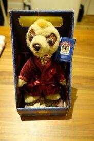 New, boxed Aleksandr Meerkat Toy w/ Certificate - £15
