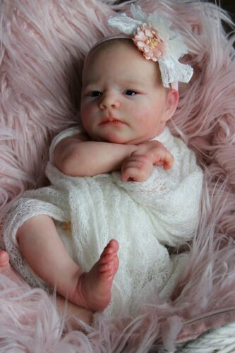 "Ruby Awake *Realborn ~ 20"" Reborn Vinyl Doll Kit with COA  ~  by Bountiful Baby"