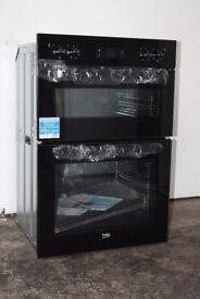 Brand New Beko Built-In Double Oven/Cooker Model No.BDF22300B Digital Display 12 Month Warranty