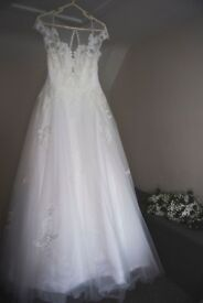 Wedding Dress immaculate condition, dry cleaned and Boxed