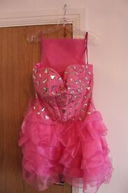 Designer Prom Dress by MayQueen Couture USA. Size 8