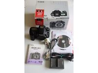 Canon 40D Camera Body Low Shutter Count Boxed with original Accessories & Spare Batteries