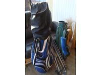 CLEVELAND & MACGREGOR GOLF BAGS & CLUBS