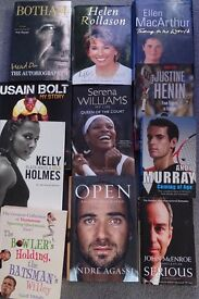 Selection of Sport related books