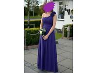 12 purple bridesmaid dress