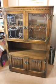 Old Charm Dresser Display Cabinet