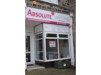 Shop Unit for Rent - shop to let in bustling location, Town Street, Horsforth, rent free period