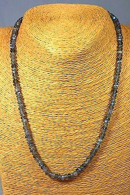 Labradorit Kette Collier 91,20ct. Classic Schmuck Edelstein Heilstein Halskette
