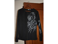 NEW Men Long Sleeve Crew Neck Slim Fit T-shirt Casual Cotton Graphic Tee Top