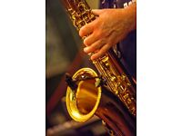 Glasgow based Tenor/Soprano Saxophone player Available