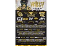 Hellfest 2017 3 Day Ticket + Camping + Transport to and from Coventry