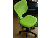 Small Green Office/Desk Chair