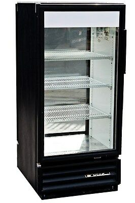 True Gdm-10 Single Door Commercial Refrigerator With Double Sided Glass Doors