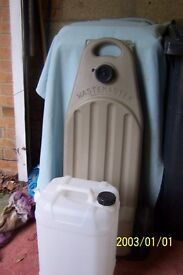 Wastemaster trolley and new 25 litre water container