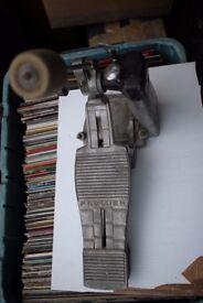 Premier 252 single compression bass drum pedal - '70s - Original model