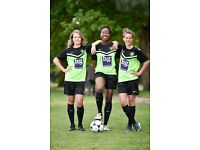 Ladies football/womens soccer team near central London seeks good experienced players