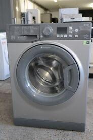 HOTPOINT Smart WMFUG842G 8kg Washing Machine - Graphite