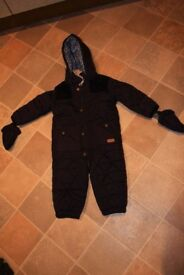 junior J snowsuit. 12-18 months