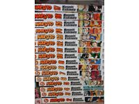 NARUTO Manga Set / Collection Volumes 2-17