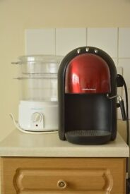 Morphy Richard coffee maker and steamer