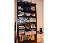 1 Black-brown Bookcase