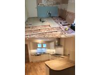 Kitchen fitting ,Painting and Decorating , Flooring , Tiling ,Carpentry ,Bathroom ,General Building.