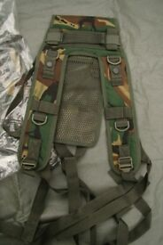 New - DPM Camo Arktis made Webbing Yoke / Shoulder Harness