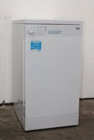 Beko DSF05010WH Graded Slim-Line Dishwasher 12 Month Warranty Delivery and Install Available