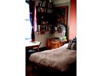 spacious double room with plenty of storage for visual artist/painter sharing with other artists