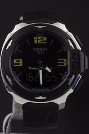 Men'sT-Race T-Touch -Quartz- Near new condition.Warranty.Boxed
